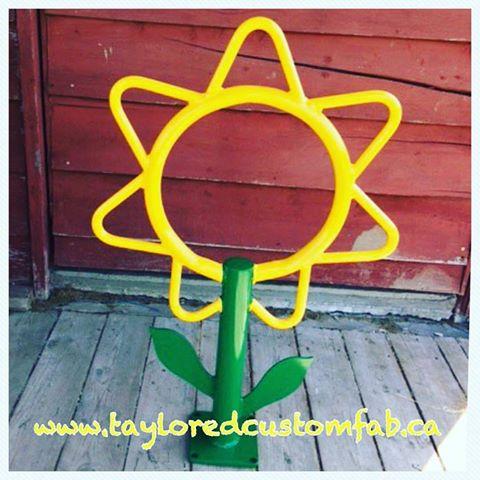 Flower Bike Rack