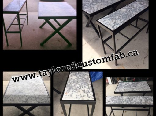 Matching Console & Dining Table