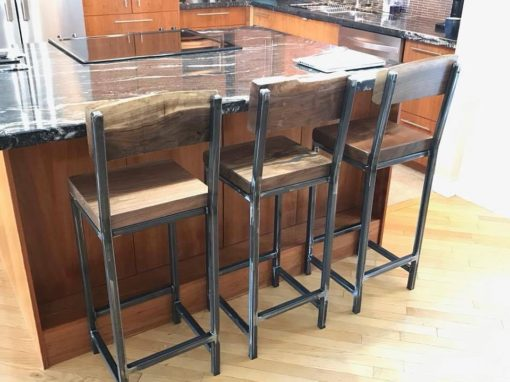 Square Tubing Bar Stools